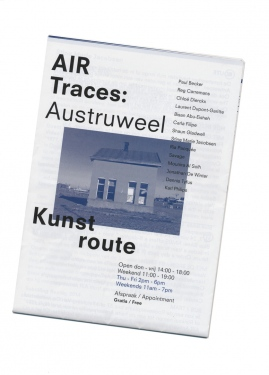 Map of AIR Kunst route Astruweel 2014