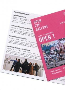 Open Eye Gallery Liverpool 2015
